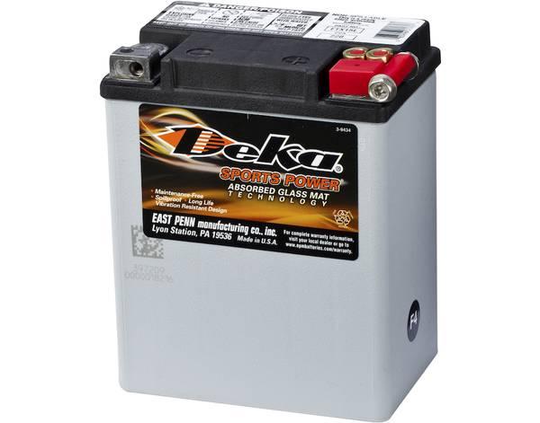 Bilde av DEKA MC Batteri 12V 14AH 220CCA (134x90x166mm) +høyre