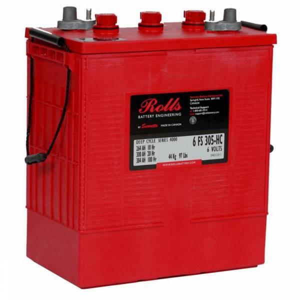 Bilde av ROLLS 6-FS-305-HC Deep Cycle Batteri 6V 305AH