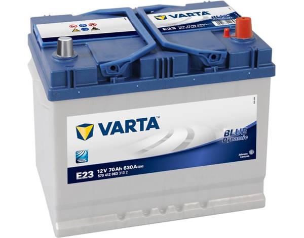 Bilde av VARTA E23 Blue Dynamic Batteri 12V 70AH 630CCA