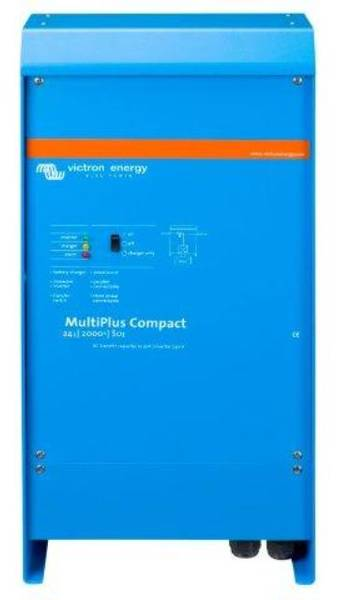 Bilde av VICTRON MultiPlus C24/2000/50-30 kombi inverter og lader