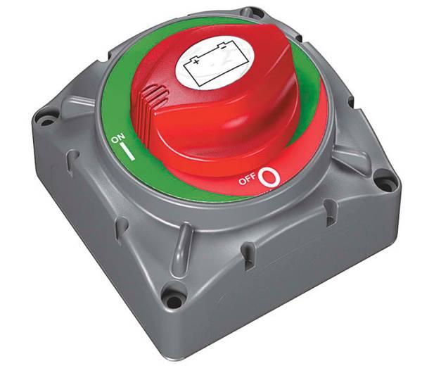 Bilde av BEP Batteri Hovedbryter - Utenpåliggende montering 600A