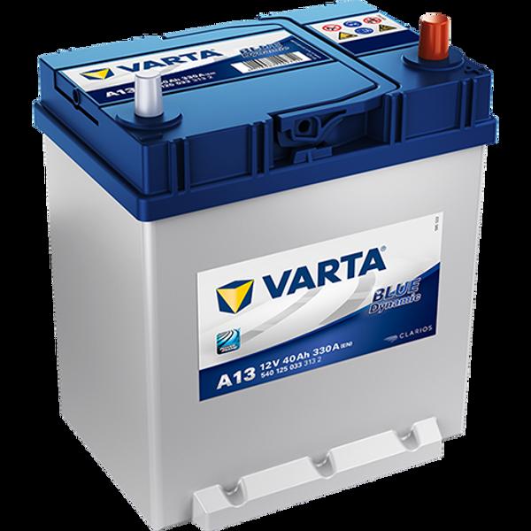Bilde av VARTA A13 Blue Dynamic Batteri 12V 40AH 330CCA (187x127x200/227