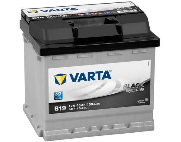 Bilde av VARTA B19 Black Dynamic Batteri 12V 45AH 400CCA (207x175x190/19)