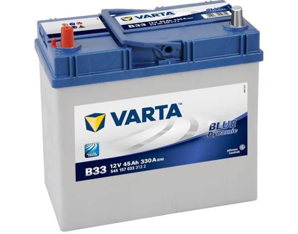 Bilde av VARTA B33 Blue Dynamic Batteri 12V 45AH 330CCA (238x129x200/227)