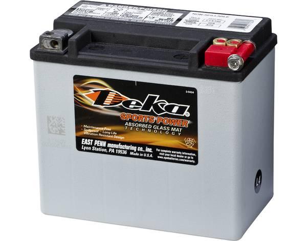 Bilde av DEKA MC Batteri 12V 19AH 325CCA (175x100x155mm) +høyre